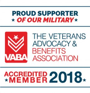 proud supporter of our military vaba logo